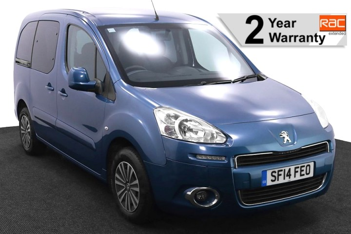 1 Wheelchair Accessible Vehicle SF14FEO Peugeot Partner Blue 1 RAC 2
