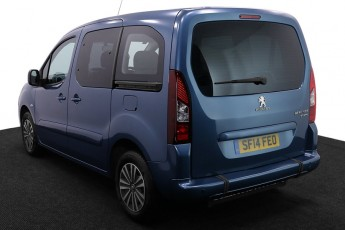 Wheelchair Accessible Vehicle SF14FEO Peugeot Partner Blue 3 2