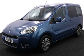 Wheelchair Accessible Vehicle SF14FEO Peugeot Partner Blue 2 2