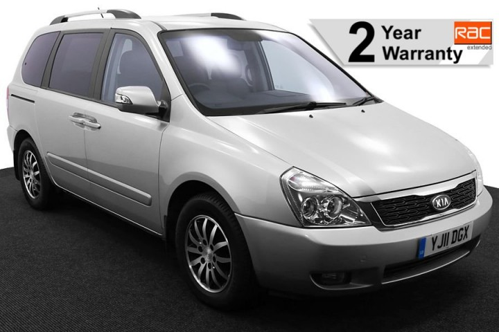1.Wheelchair Accessible Vehicle YJ11DGX Kia Sedona Silver 1 RAC 2