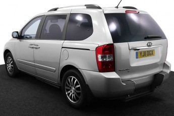 Wheelchair Accessible Vehicle YJ11DGX Kia Sedona Silver 3 2