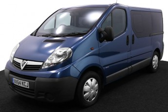 Wheelchair Accessible Vehicle NV64KCJ Vauxhall Vivaro Blue 2 2