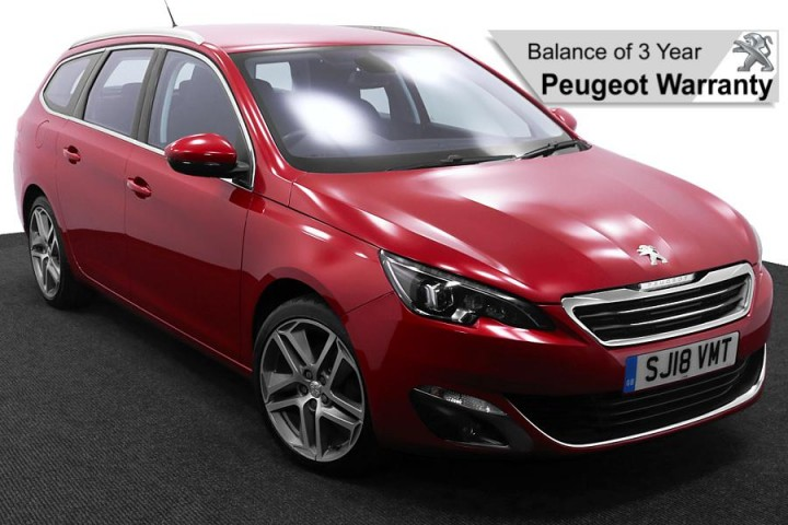 Peugeot 308 SJ18VMT Red 1 Pw