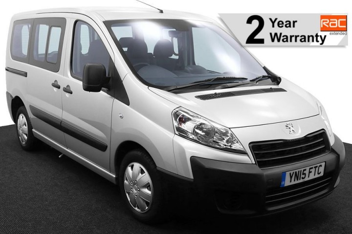 1.Wheelchair Accessible Vehicle YN15FTC Peugeot Expert Silver 1 RAC 2