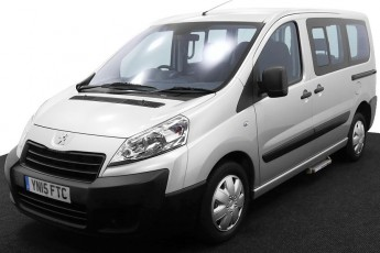 Wheelchair Accessible Vehicle YN15FTC Peugeot Expert Silver 2 2