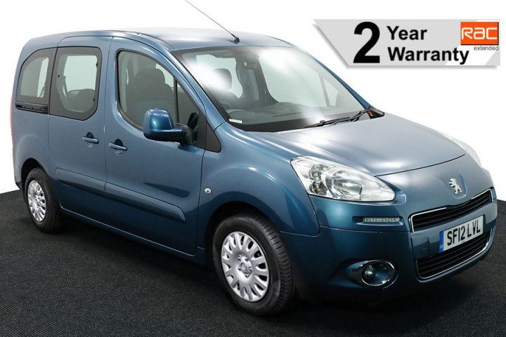 3 Wheelchair Accessible Vehicle SF12LVL PEUGEOT PARTNER BLUE 1 RAC