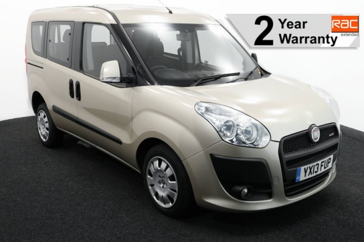 1.Wheelchair Accessible Vehicle YX13FUP FIAT DOBLO IVORY 1 RAC 2