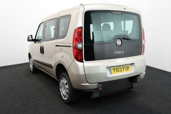 Wheelchair Accessible Vehicle YX13FUP FIAT DOBLO IVORY 3 2