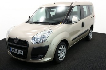 Wheelchair Accessible Vehicle YX13FUP FIAT DOBLO IVORY 2 2