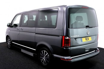 vw caravelle new grey wheelchair accessible vehicle uf lift transfer 3 2