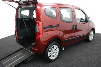 Wheelchair Accessible Vehicle Nav DL18NWO FIIAT QUBO RED3 2
