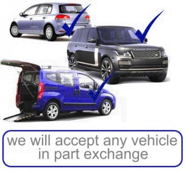 Any vehicle in part exchange 3