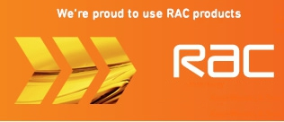 Proud to use RAC products 2